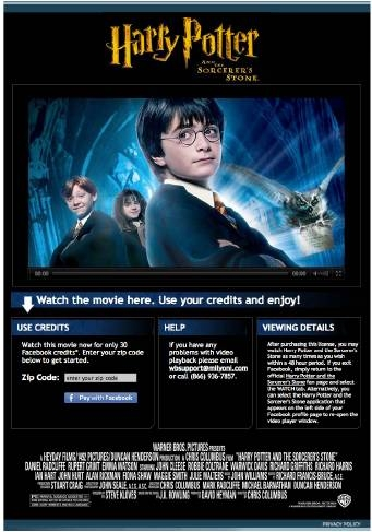 Harry Potter and the Sorcerers Stone FP Credits