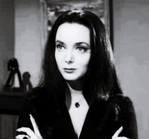 Morticia Addams Carolyn Jones