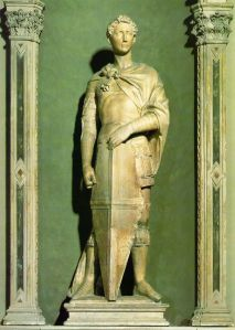 Statue of St. George by Donatello
