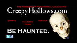Creepy Hollows ad