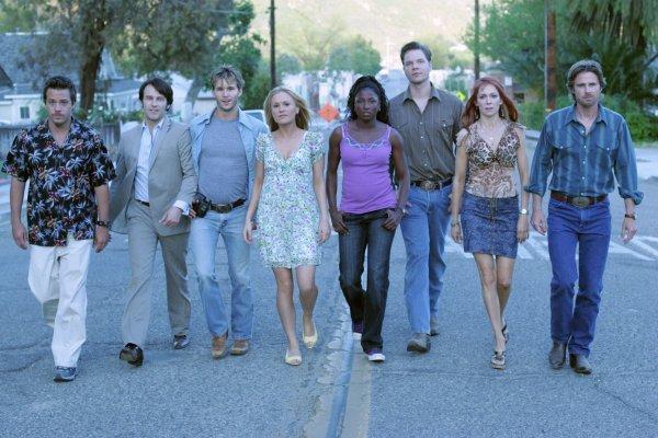 true blood season 4 cast photos. True Blood Cast, Season 1