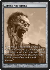 Preternatural Post Zombie Trading Card