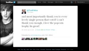 Malfoy Tweet