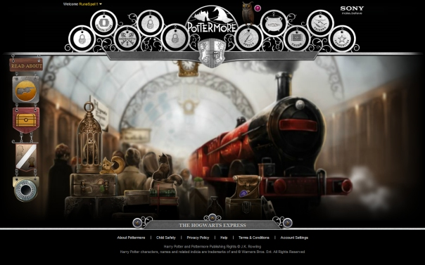 Pottermore Hogwarts Express