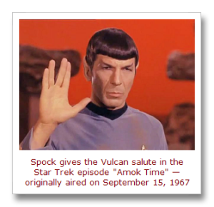 Amok Time, Spock