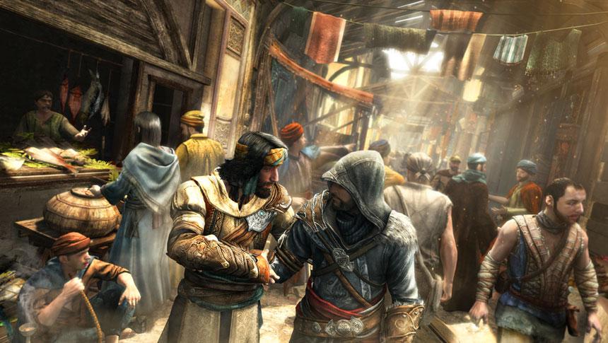 Assassin's Creed Revelations Marketplace Screenshot
