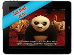 Kung Fu Panda 2 TouchPad