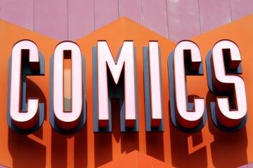 Comics Sign