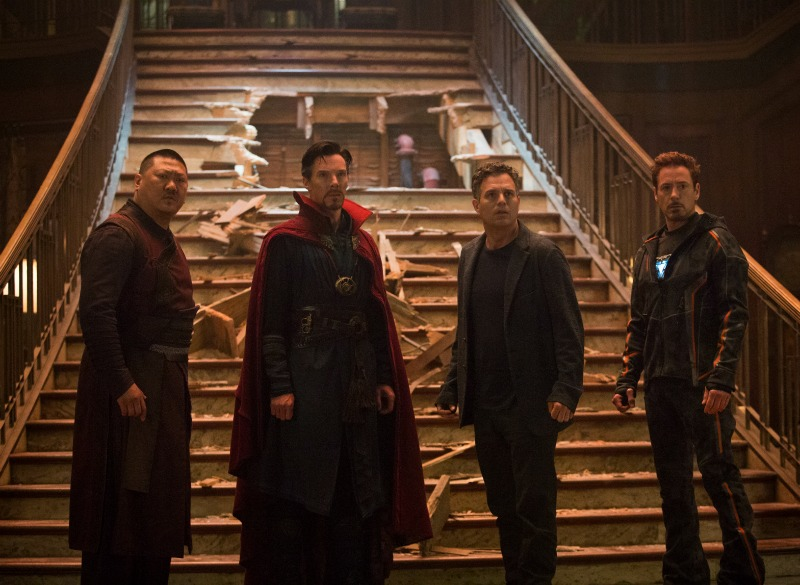 Avengers-Infinity-War-Captain-Strange-Hulk-Bruce-Banner-and-Iron-Man-